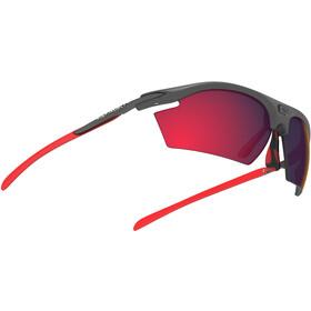Rudy Project Rydon Okulary rowerowe szary/czerwony